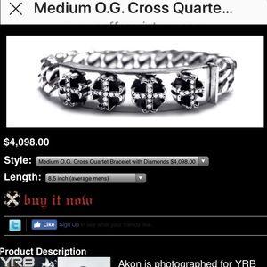 Soffer Ari medium diamond bracelet 9.5 inches